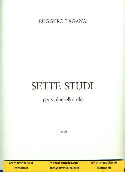 Ruggero Lagana - 7 Studi - Partition - di-arezzo.fr