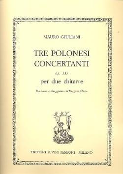 3 Polonesi concertanti, op. 137 - 2 Chitarre laflutedepan