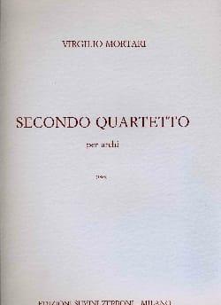 Virgilio Mortari - Quatuor n° 2 - Partition - di-arezzo.fr