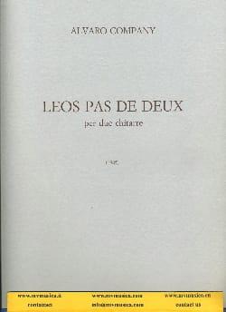 Company Alvaro - Leos pas de deux - Partition - di-arezzo.fr