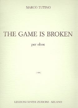 The Game is broken - Oboe - Marco Tutino - laflutedepan.com