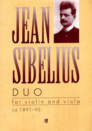 Jean Sibelius - Duo – Violin and viola - Partition - di-arezzo.fr