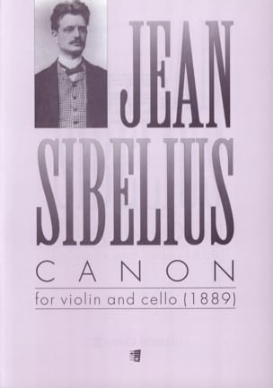 Jean Sibelius - Canon 1889 - Sheet Music - di-arezzo.co.uk