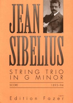 String Trio G minor - Score SIBELIUS Partition laflutedepan