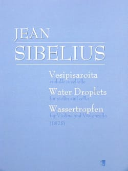 Jean Sibelius - Water Droplets (1875) - Partition - di-arezzo.fr