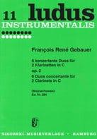 6 Konzertante Duos op. 2 - 2 Klarinetten in C laflutedepan