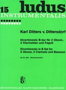 Divertimento B-Dur – 2 Oboen 2 Klarinetten Fagott - laflutedepan.com