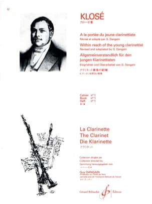 Hyacinthe Klosé - Al Reach del giovane Clarinettista Vol. 1 - Partitura - di-arezzo.it