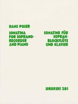 Sonatine für Sopranblockflöte u. Klavier op. 36 n° 1 - laflutedepan.com