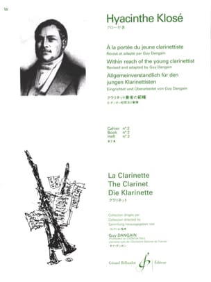 Hyacinthe Klosé - At the Reach of the young Clarinetist Vol. 2 - Sheet Music - di-arezzo.com