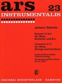 Johann Stamitz - Konzert C-Dur for Oboe and Piano - Sheet Music - di-arezzo.co.uk