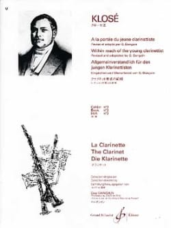 Hyacinthe Klosé - At the Reach of the young Clarinetist Vol. 3 - Sheet Music - di-arezzo.com