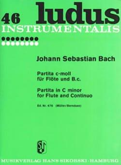 Partita c-moll für Flöte und Bc - BACH - Partition - laflutedepan.com