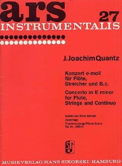 Konzert e-moll – Flöte Klavier - laflutedepan.com
