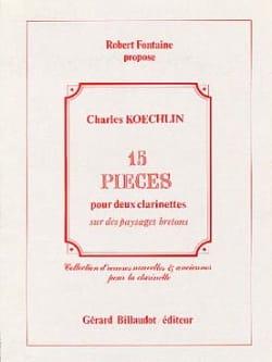 15 Pièces sur des Paysages Bretons Charles Koechlin laflutedepan