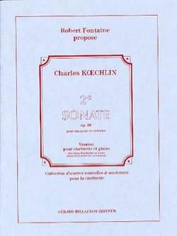 Charles Koechlin - 2e Sonate, Opus 86 - Partition - di-arezzo.fr