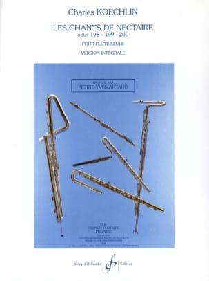 Les Chants de Nectaire Op.198 - 199 - 200 laflutedepan