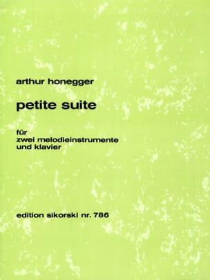 Arthur Honegger - Petite Suite – 2 Melodieinstrumente u. Klavier - Partition - di-arezzo.fr