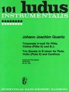 Triosonate h-moll - Flöte, Violine Flöte 2 u. Bc - laflutedepan.com
