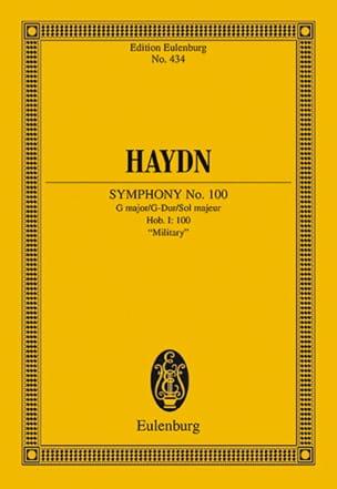 Joseph Haydn - Sinfonie N° 100 G-Dur Militaire - Partition - di-arezzo.fr