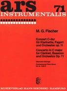 Konzert C-Dur op. 11 -Klarinette Fagott Klavier laflutedepan