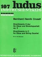 Divertimento En Do Maj. Op. 9 Bernhard Henrik Crusell laflutedepan