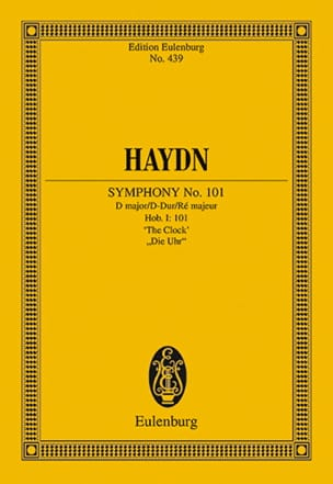 HAYDN - Sinfonie Nr. 101 B-Dur The Clock - Driver - Sheet Music - di-arezzo.co.uk