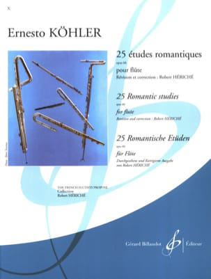 Ernesto KÖHLER - 25 Romantic Studies op. 66 - Sheet Music - di-arezzo.com