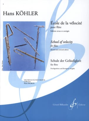 Hans KÖHLER - School of velocity - Sheet Music - di-arezzo.co.uk