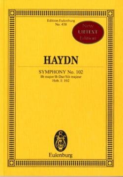 HAYDN - Symphonie N° 102 en Si B Majeur - Partition - di-arezzo.fr