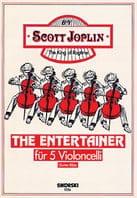 The Entertainer für 5 Violoncelli - Scott Joplin - laflutedepan.com