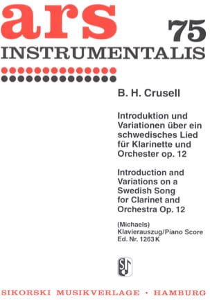 Introduktion und Variationen über ein schwedisches Lied Op. 12 - laflutedepan.com