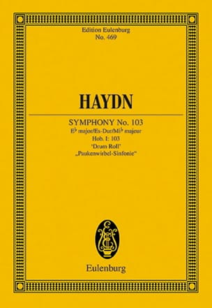HAYDN - Sinfonie No. 103 Es-Dur Timbolts - Sheet Music - di-arezzo.co.uk