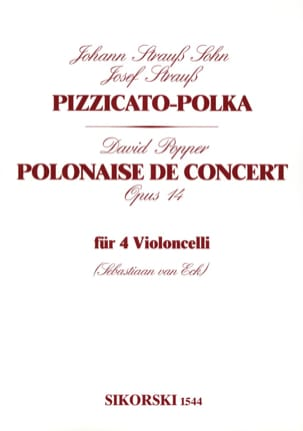Strauss Johann (Fils) / Popper David - Pizzicato-Polka / Polish Op. 14 - Sheet Music - di-arezzo.co.uk