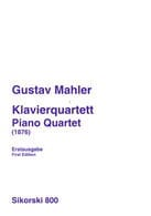 Gustav Mahler - Klavierquartett 1876 - Stimmen - Sheet Music - di-arezzo.co.uk