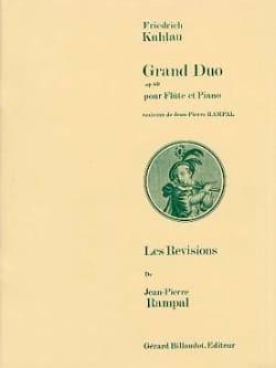 Grand duo op. 69 Friedrich Kuhlau Partition laflutedepan