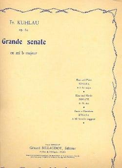 Grande sonate en mi b majeur op. 64 - laflutedepan.com