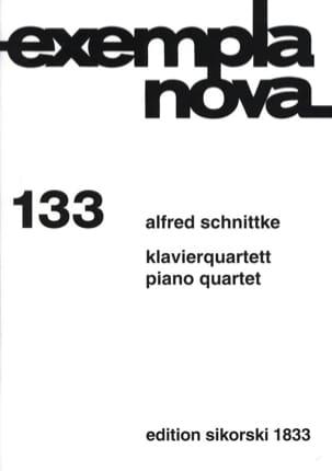 Klavierquartett -Stimmen - SCHNITTKE - Partition - laflutedepan.com