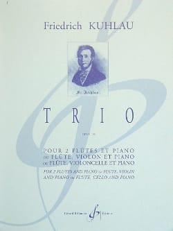 Friedrich Kuhlau - Trio Op. 119 - 2 Piano Flutes - Sheet Music - di-arezzo.com