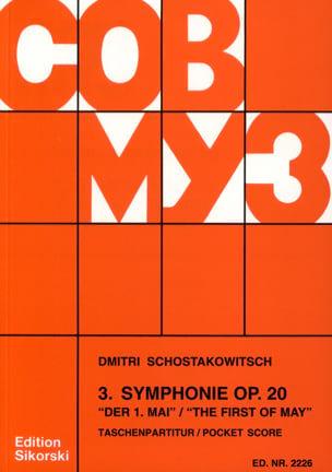 Dmitri Chostakovitch - Symphonie Nr. 3 op. 20 – Partitur - Partition - di-arezzo.fr