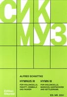 Alfred Schnittke - Hymnus 3 – Violoncello Fagott Cembalo Pauken - Partition - di-arezzo.fr
