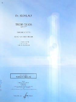 Friedrich Kuhlau - 3 Duos op. 57bis - 3ème duo – 2 Flûtes - Partition - di-arezzo.fr