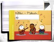 de Musique Cahier - Noten-Malbuch 4 Grosses Portées Mixte - Partition - di-arezzo.fr