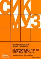Serge Prokofiev - Symphony No. 7 op. 131 - Score - Sheet Music - di-arezzo.co.uk