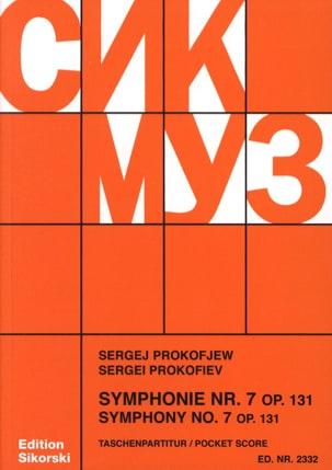 Serge Prokofiev - Symphonie n° 7 op. 131 – Score - Partition - di-arezzo.fr
