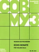 Echo-Sonate - Rodion Shchedrin - Partition - laflutedepan.com