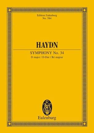 Sinfonie Nr. 34 D-Dur - Joseph Haydn - Partition - laflutedepan.com