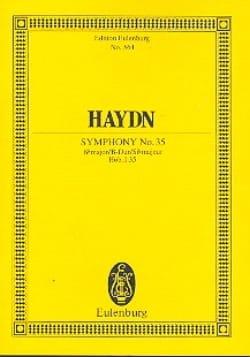 Sinfonie Nr. 35 B-Dur - Joseph Haydn - Partition - laflutedepan.com