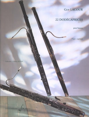 22 Dodécaprices - Guy Lacour - Partition - Basson - laflutedepan.com
