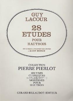 Guy Lacour - 28 Etudes pour hautbois - Partition - di-arezzo.fr